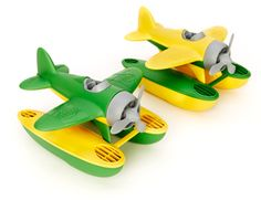 Green Toys™ Seaplane: recycled, BPA free, yes, this is how toys should be! Only mine  are above toddler age...