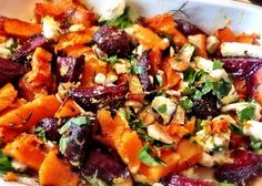 This multicoloured salad is the perfect side dish to a summer barbecue or even a vegetarian main dish. (Personally, I have never been satiated by anything meat-free but each to their own!) Tossed...