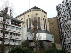 L'arrière de l'église saint-ignace