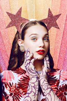 Maddie Ziegler's Sparkly Beauty Shoot