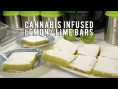 How to Make Cannabis Infused Lemon/ Lime Bars: Infused Eats #47 - YouTube
