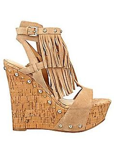 Guess wedges ♡ You know I am a sucker for some frindge ;)