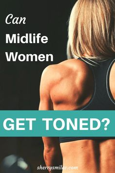 It is harder for women to get a toned look after age but it is possible with the right type of exercise and changes to what you eat Get Toned, Toned Abs, How To Increase Muscle, Heavy Weight Lifting, Weight Loss, Weight Gain, Fit At 40, Women Lifting, How To Get Abs