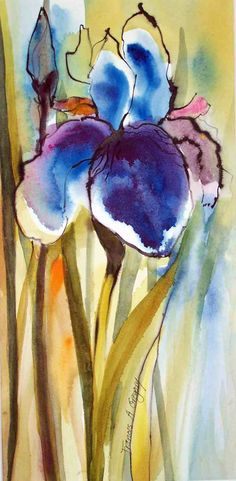 Iris by Frances Gregory