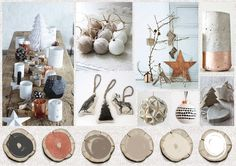 Studio Deksels -Trend - Styling - Kerst 2014 - ZoDieZijn Christmas Decorations, Table Decorations, Place Cards, Place Card Holders, Studio, Furniture, Home Decor, Decoration Home, Room Decor