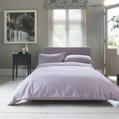 Carla Plain Raspberry Buttoned 100% Cotton Duvet Cover and Pillowcase Set