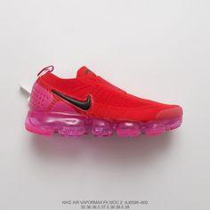 a830297246 Womens Nike Air Vapormax Moc 2 Set Of Foot Bandage Steam Air Max Jogging  Shoes Sao Red Powder Black Hook