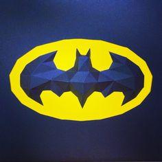Sculpture cadre The Dark Knight Batman en papier - Paper frame The Dark Knight Batman Sculpture #paper #papier #papercut #papercraft #pepakura #vector #sculpture #design #polygon #lowpoly #frame #batman #batmanlogo #thedarkknight #darkknight #thedarkknightrises #darkknightrises #tdk #tdkr #batmanvsuperman #justiceleague #dawnofjustice #benaffleck #batfleck #christianbale #nolan #dccomics