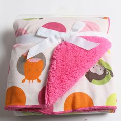 >> Click to Buy << Printed Cute Cartoon Animal Double Layer Short Plush Baby Blanket Super Soft Newborn Baby Products Bedding Free Shipping #Affiliate
