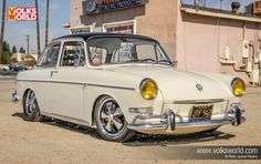 Canadian Auto Networ pin: If there's one thing the GFK are known for, it's quality and these two super clean VW Type 3 Notchbacks are testament to that