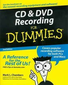 Download intermediate accounting for dummies ebook free by maire cd dvd recording for dummies malvernweather Choice Image