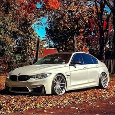BMW F80 M3 white fall