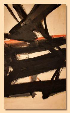 Franz Kline - Horizontal Rust (1960)