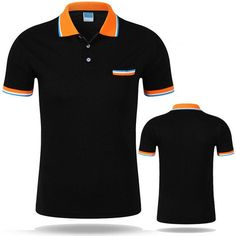 New Polo Shirt Men Short sleeve Cotton Casual Breathable Shirt Mens Turn-down collar Polos shirts homme Men Brand clothing