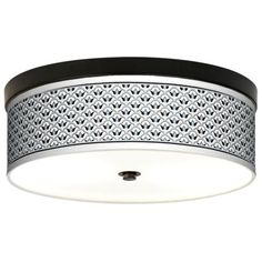 Arabella Giclee Energy Efficient Bronze Ceiling Light