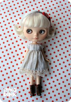 I would love to customize my Blythe doll.