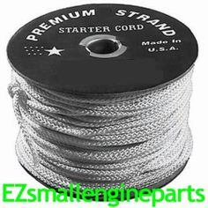 STARTER ROPE NO. 4 - 250FT STANDARD - OREGON 31-740 Just $31.00 with FREE SHIPPING in our eBay Store! Standard for many OEM's ***LIMITED LIFETIME WARRANTY***