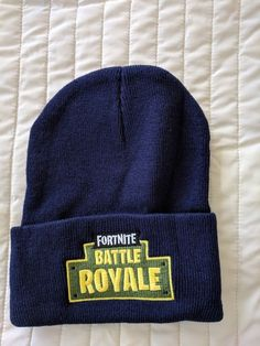 a88389d9b6e Fortnite Battle Royale Winter Hat Blue FAST SHIPPING!!!  fashion  clothing   shoes  accessories  mensaccessories  hats (ebay link)