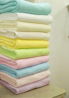 Pastel Color Terry Cloth