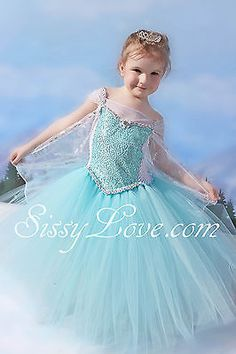 Disney Frozen Elsa Inspired Dress Tutu Store Anna Olaf Ballet Birthday Party