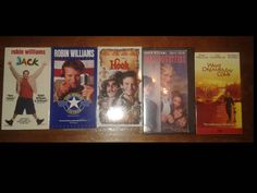 LOT OF 5 ROBIN WILLIAMS VHS Doubtfire Dreams May Come Jack Hook Morning Vietnam | Entertainment Memorabilia, Movie Memorabilia, Other Movie Memorabilia | eBay!