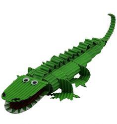 knutselpakket krokodil