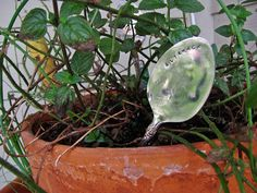Antique Spoon Plant Markers - How To-sday - Shrimp Salad Circus