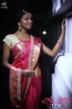 South Indian Weddings, Sari, Fashion, Saree, Moda, Fashion Styles, Fashion Illustrations, Saris, Sari Dress