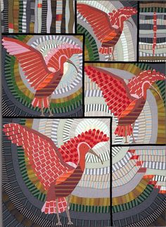 """""""Scarlet Ibis"""" by Gabrielle Paquin"""