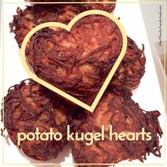 potato kugel hearts