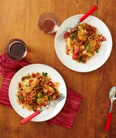 Spanish-Style Chicken and Rice Recipe – Chicken Recipes at WomansDay.com - Woman's Day
