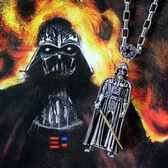Han Cholo x Star Wars stainless steel Darth Vader necklace ⭐️ Star Wars fashion ⭐️ Geek Fashion ⭐️ Star Wars Style ⭐️ Geek Chic ⭐️