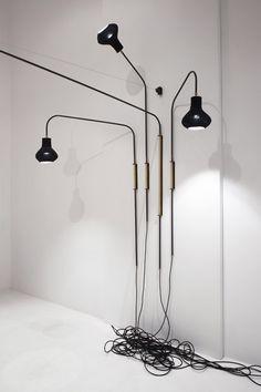 Burnished Indigo exhibition by JamesPlumb - Indigo Luminaire detail.
