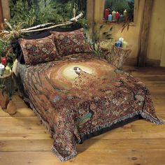 Summers Cauldron Bedspread - New Age & Spiritual Gifts at Pyramid Collection