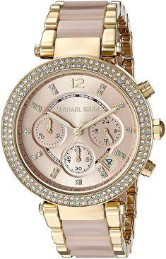 Michael Kors Parker Chronograph Quartz Diamond Accent MK6326 Women s Watch 6c4a4f2c36
