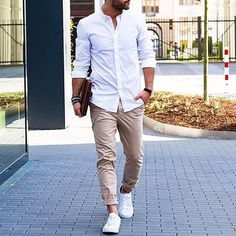 wear #sneakers at office #MensFashion
