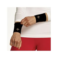 Women's Tommie Copper Recovery Compression Wrist Sleeves, Black