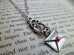 YES. Harry Potter Hedwig Delivery Owl Necklace