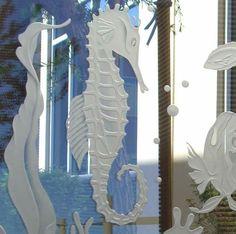 Aquarium with Sea Lion (Close Up of Seahorse)