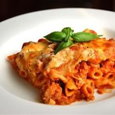 "Baked Ziti I | ""Just made this dish for dinner tonight and it was delicious."""