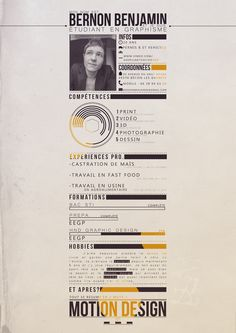 #cv graphic design