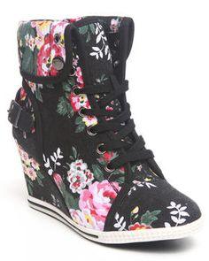 Buy Blue Bell Floral Sneaker Women's Footwear from Fashion Lab. -- Julianna