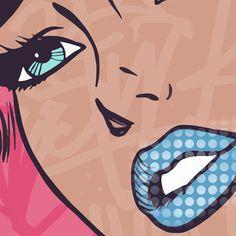 Large Canvas Prints, Canvas Frame, Canvas Wall Art, Graffiti I, Graffiti Drawing, Pop Art Girl Crying, Street Art, Art Pop, Broken Series