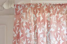 Spring Bloom Curtain by NutMeg Ink   Minted