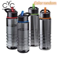Water Bottle For School Camping Hiking Cycling Outdoor Leak Proof  LH