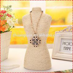 Roupa de venda quente da moda colar stand jóias display& decoração home, mannequin jóias stand                                                                                                                                                                                 Mais