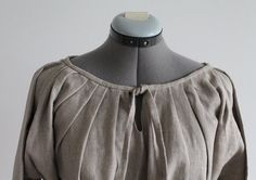 Made to order. Viking dress linen underdress early medieval