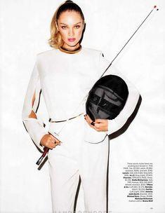 Candice Swanepoel Harper's Bazaar