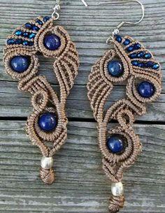 Blue earrings                                                       …