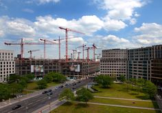 Germany Gets Biggest Mall as Berlin Lures Shoppers: Real Estate. Germany's biggest metropolis has been something of an emerging market in the decades of rebuilding that followed the fall of the Berlin Wall in 1989.  #Berlin #Germany #realestate #economy #BerlinWall